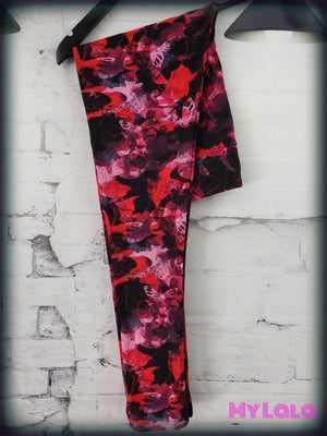 Yoga Band~Curvy Raging Beauty - My Lala Leggings, soft leggings, buttery soft leggings, one size leggings