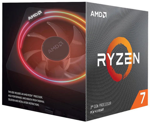 AMD Ryzen 7 3700X 3.6GHz, Turbo 4.4GHz, AM4, 8-kjarna