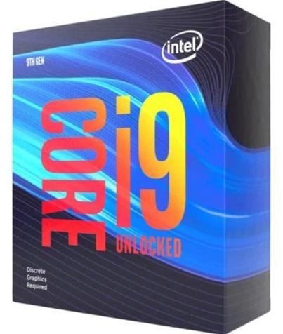 Intel Core i9-9900KF 5.0GHz, Coffee Lake, 8-kjarna, 16MB í flýtiminni