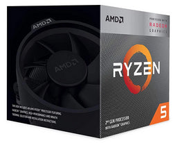 AMD Ryzen 5 3400G 3.7GHz, Turbo 4.2GHz, AM4, 4-kjarna
