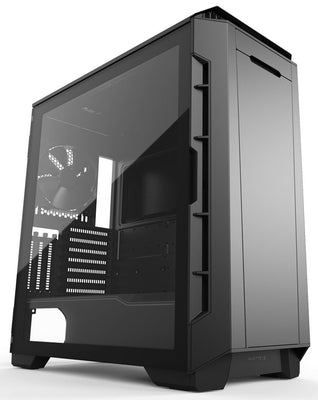 Phanteks Eclipse P600S Tempered Glass svartur með hljóðeinangrun