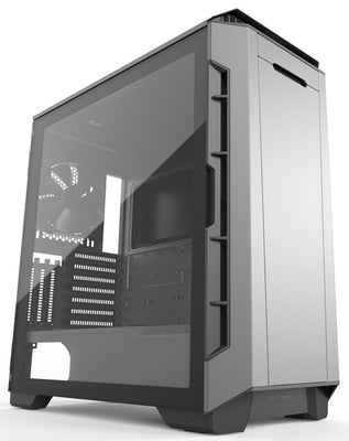 Phanteks Eclipse P600S Tempered Glass grár með hljóðeinangrun