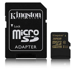 Kingston 32GB MicroSDHC minniskort, Class10/UHS-I
