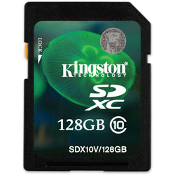 Kingston 128GB Secure Digital (SDXC) minniskort