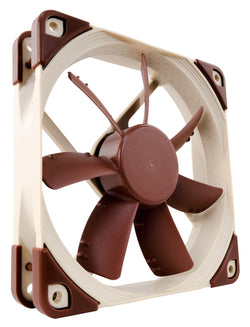 Noctua NF-S12A FLX 120mm 3 pinna kælivifta með low-noise adapter