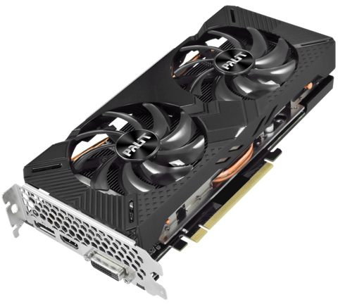 Palit GTX 1660 SUPER GP OC 6GB, DVI, HDMI & DisplayPort