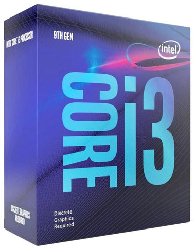 Intel Core i3-9100F 4.2GHz, Coffee Lake, 4-kjarna, 6MB cache