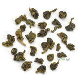 taiwan high mountain oolong tea close up