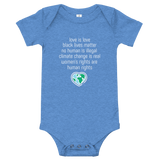 """Love is Love"" Baby/Infant Bodysuit"