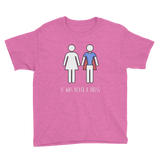 """It Was Never a Dress"" Youth/Kids Unisex T-Shirt"
