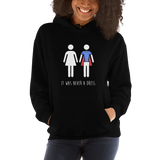 """It Was Never a Dress"" Unisex Hoodie Sweatshirt"