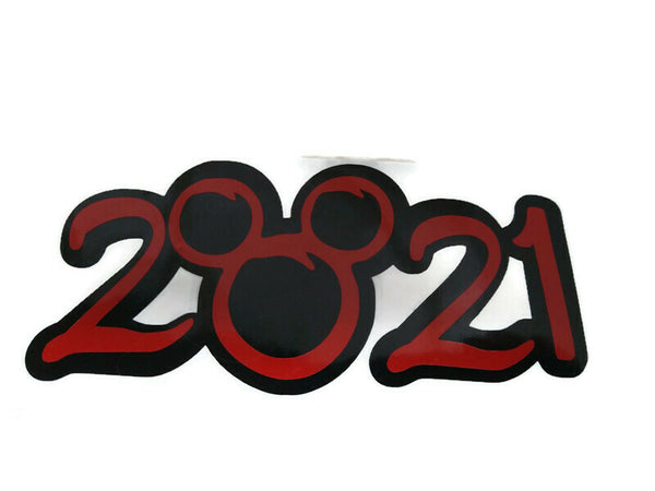 2021 Disney Vacation Sticker Decal
