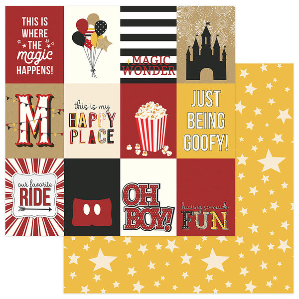 Day at the park 3x4 Cards Scrapbook Paper