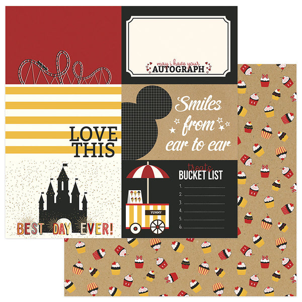 A Day In the Park 4x6 Cards Scrapbook Paper
