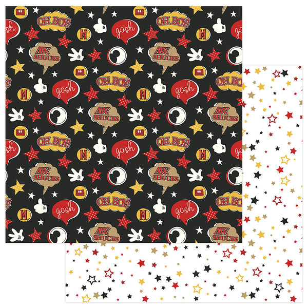Oh Boy A Day At the Park Scrapbook paper