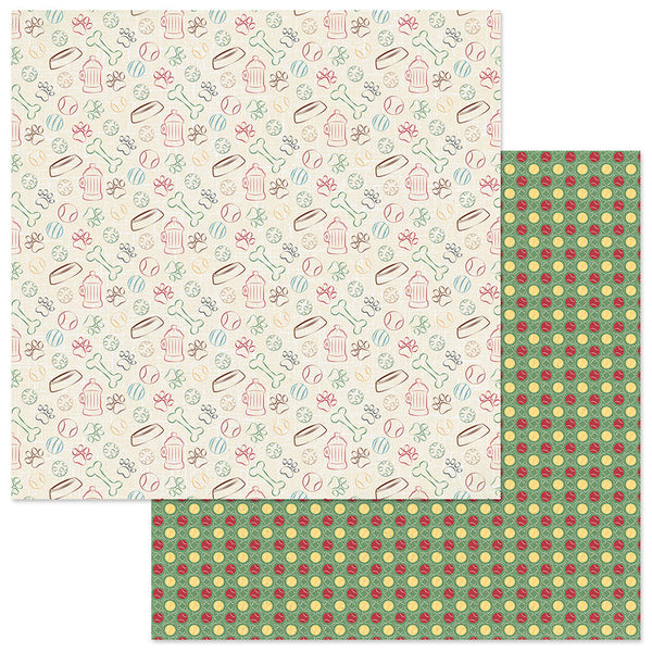 Go Fetch Cooper and Friends Scrapbook Paper