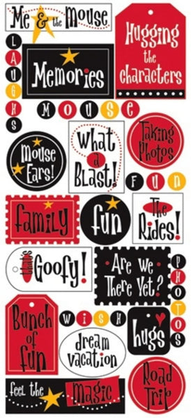 Creative Imaginations Magic Stickers