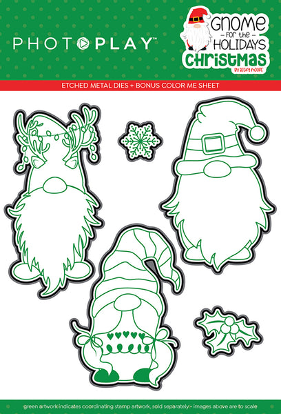 Gnomes for Christmas Cutting Dies