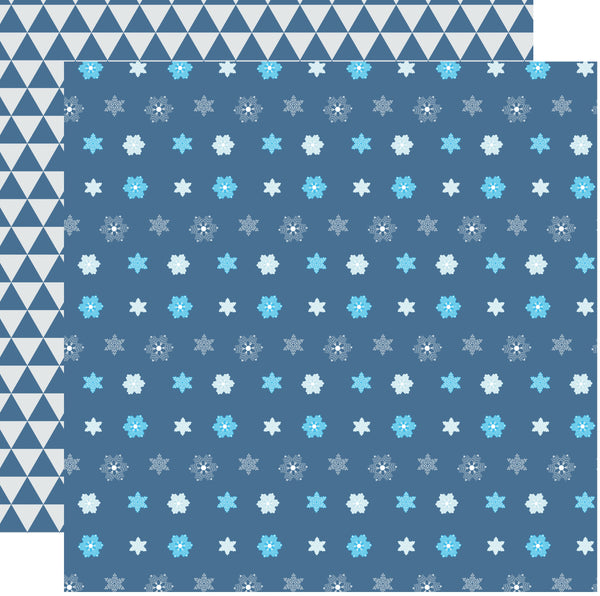 Snowflakes Ice Kingdom Scrapbook paper