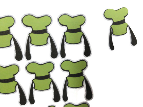 Goofy Hat Ears Stickers