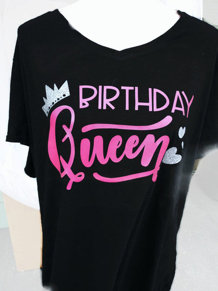 Birthday Queen Womens TShirt