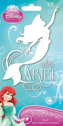 Ariel the Little Mermaid Repositionable Decal