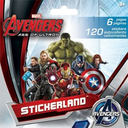 Marvel Comics Age of Ultron Sticker Book