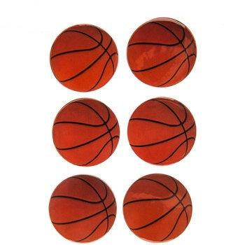 basketball scrapbook stickers 3 dimensional