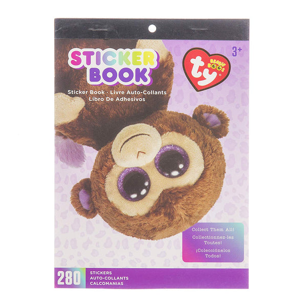 Monkey Beanie Boo Stickers Book