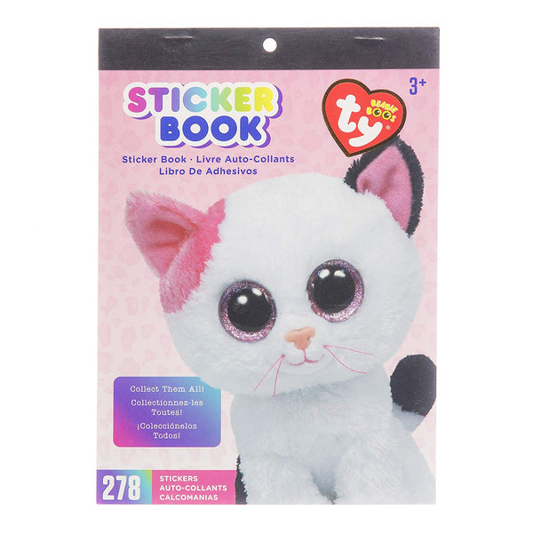 Muffin Cat Beanie Boo Stickers Book