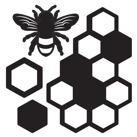Bees and Honeycombe Metal Cutting Dies