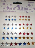 Bits of Bling 4th of July Star Scrapbook Stickers