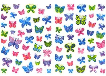 Butterfly Stickers by Sandylion
