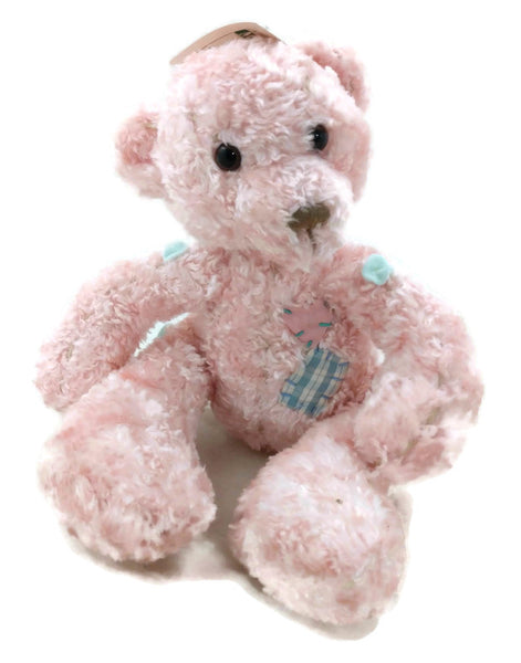 Pink Buttons Bear by First and Main