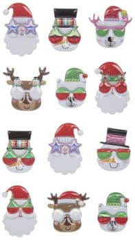 Christmas Buddies Stickers Puffy