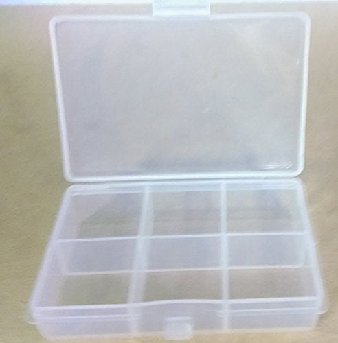 Clear Storage Box for Embellishments or Small Objects