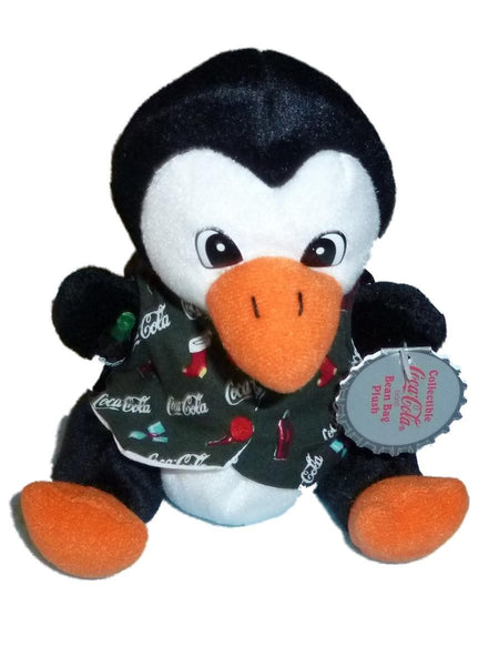 Coca Cola Beanbag Penguin with Vest