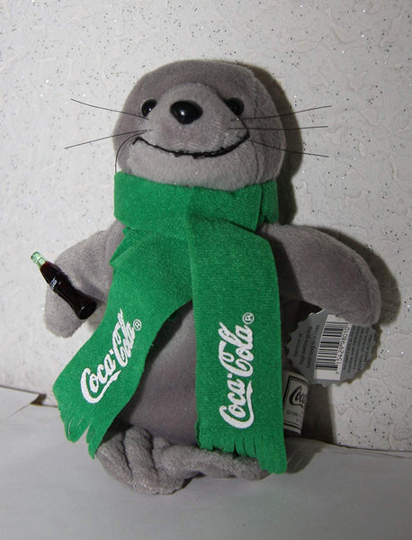 Coke Seal with Green Scarf