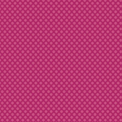 Dark Pink Polka Dot Cardstock 12x12 4 Sheets