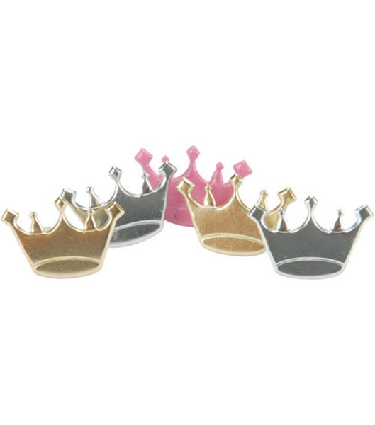 Princess Crown Brads Assortment by Eyelet Outlet