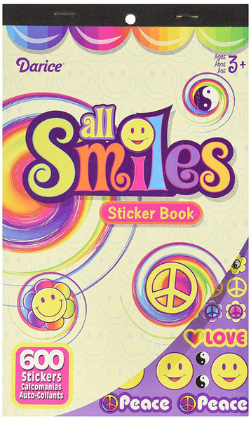All Smiles Smiley Face Sticker Book