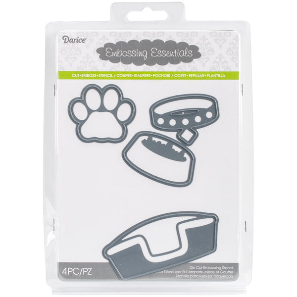 Dog Pet Metal Cutting Die Set by Darice