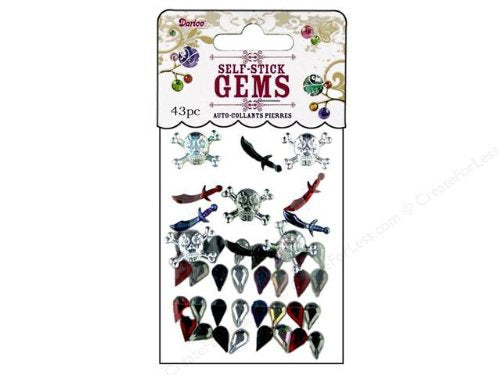 Pirate Gemstone Stickers by Darice