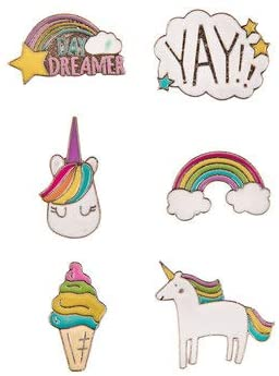 Day Dreamer Metal Stickers - Set of 6
