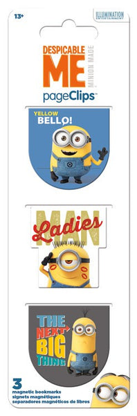 Despicable ME Magnetic Page Clips Bookmarks