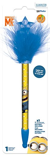 Despicable Me Light Up Pen Blue
