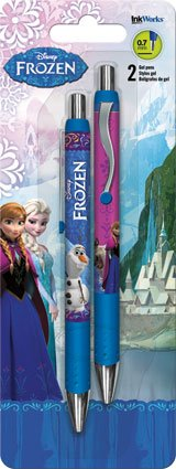 Disney Frozen Gel Pens - Set of 2