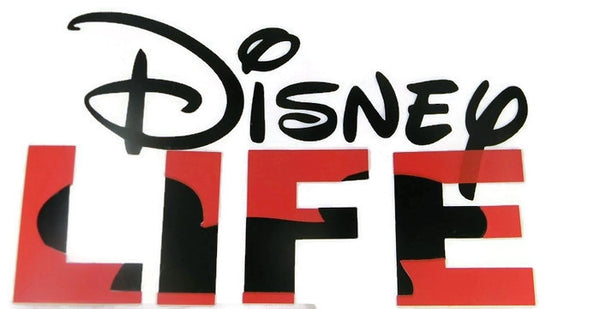 Disney LIFE Large Vinyl Decal - Mickey Hat 2 Color
