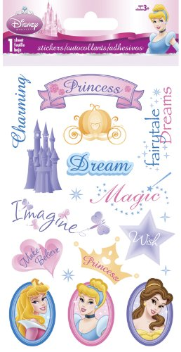 Disney Princess Slim Stickers Gem …