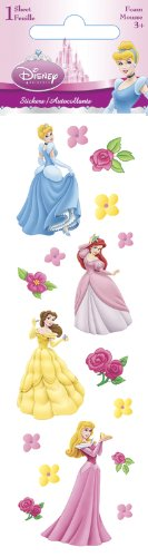 Disney Princess Slim Stickers by Sandylion
